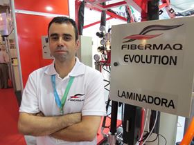 Christian de Andrade, director of Fibermaq.