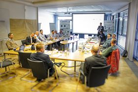 Experts from the automotive and manufacturing technology industries attended at a workshop at GKN.