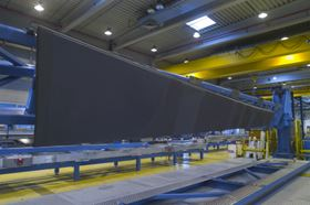 GKN Aerospace's rear spar for the A350 XWB demonstrator wing.