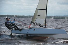 The new catamaran. (Picture © Advanced Racing Catamarans.)