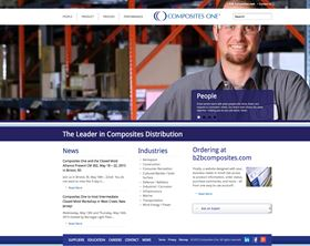 Composites One has launched a newly redesigned website.