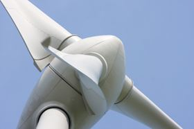 Reinforced plastics will increasingly be used in many parts of wind turbines, other than blades. (Photo courtesy of Shutterstock.com)