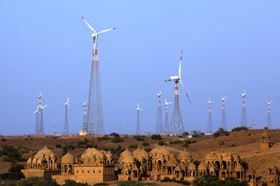 Energy-starved INDIA is becoming a vibrant market for renewable energy.