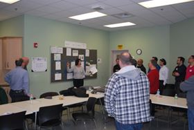 REM Surface Engineering recently hosted a Lean Leadership Certification Tour at its Southington, Conn., facility.