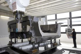 The machining centre.
