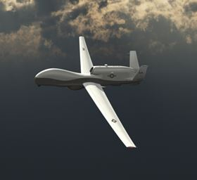 BAMS UAS in flight. (Picture © Northrop Grumman.)