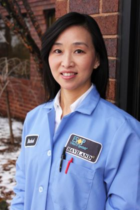 B. Rachel Cheng joins Haviland Products Company as Senior Research and Development Chemist.