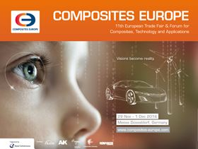 COMPOSITES EUROPE 2016 - 11th European Trade Fair & Forum for Composite Materials Technology & Applications
