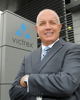 David Hummel, chief executive of Victrex.