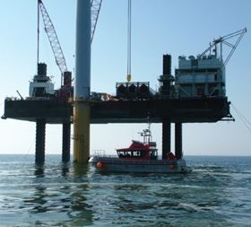 Image courtesy of Offshore Wind Power Marine Services.