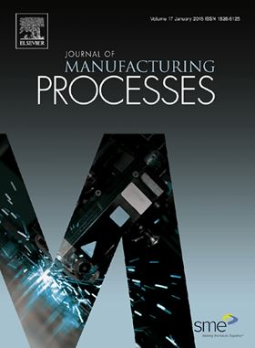 Journal of Manufacturing Processes accepted for 2014 impact factor
