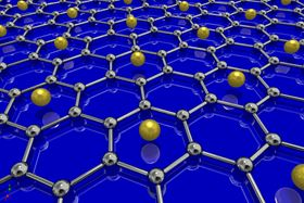 Graphene can be made superconducting by coating it with lithium atoms.