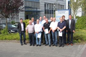 The two-day session focused on hard chrome plating of automotive engine valves and was held at Enthone's European regional headquarters in Langenfeld, Germany