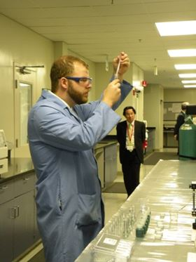 Material science lab provides everything from chemical composition studies to thickness testing.