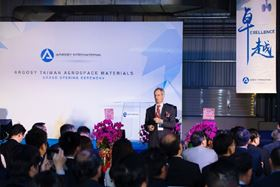 Argosy International Inc has opened a new 2,000 m2 manufacturing facility in Taiwan.