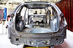 An uptick in automotive production drove the bulk of the manufacturing increases in March. Photo courtesy of Nataliya Hora / Shutterstock.com.