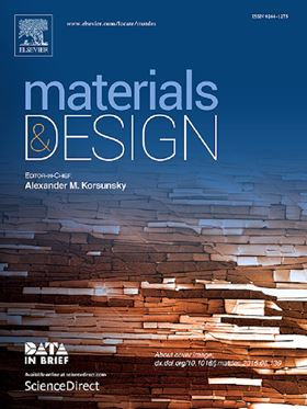 Announcing a new ISSN for Materials & Design