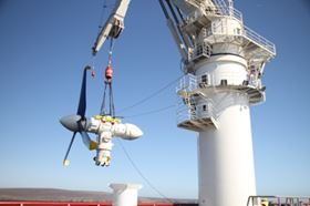 Atlantis Resources Corporation is working with Narec on the development of a nacelle intervention system for their tidal energy turbine.