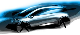 The Megacity Vehicle will have a futuristic design. The car will have four seats and will be bigger than a Mini but smaller than the BMW 1 Series. It is expected to have its first public showing at the 2012 Olympic Games in London.