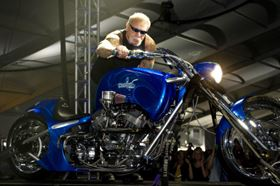 The chopper will feature on an episode of TV show American Chopper.