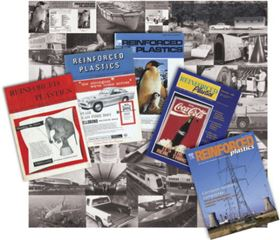A selection of magazine covers, including that from the very first issue in 1956 (far left).