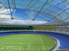 The Maracanã Stadium contract involves the supply of Akzo Nobel's Interseal 670HS protective coatings, while both Interseal 670HS and Interfine 979 will be used at the Grêmio Arena. Photo courtesyof Football Wallpapers.com.