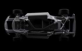 View of a 3D printed chassis from top down (Photo courtesy Business Wire).