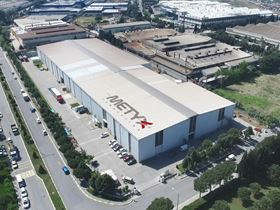 METYX Composites glass fabric production lines in Manisa, Turkey.