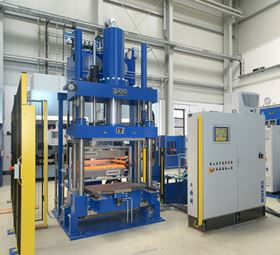 RUCKS has developed a new press for a range of composite applications.