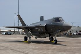 The F-35 Lightning II is a 5TH Generation fighter, combining advanced stealth with fighter speed and agility, fully fused sensor information, network-enabled operations and advanced sustainment.