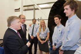 The facility was opened by Mark Prisk MP, Minister of State for Business and Enterprise, on 12 January.
