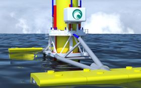 The Wave Treader has active on-board adjustments to allow for the effects of tidal range