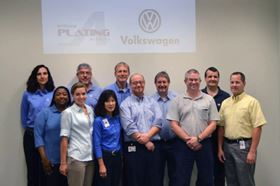 Due to the success of the Mexico training session, Volkswagen invited Enthone to conduct an additional decorative chrome plating session at its Chattanooga, Tenn., facility.