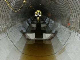 Glass reinforced EPOVIA vinyl ester panels offer a cost-effective relining option for corrosion-damaged culverts in Maine. (Picture courtesy of Cray Valley/Cook Composites.)