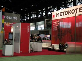 The 2011 FABTECH show served as the launchpad for Kontrol 360, Metokote's complete suite of customer-focused, value-added services. This includes process monitoring, tracking, logistics, and e-coat solutions.