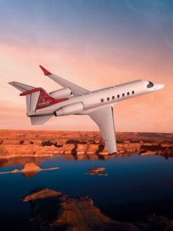 Bombardier is using a low-pressure oven-cured OOA carbon product from Cytec as the material basis for its Learjet 85 fuselage.
