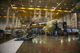The index for transit equipment moved up 1.6 percent in August, boosted by higher output of civilian aircraft.