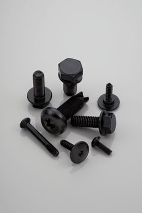 Atotech's zinc flake coating is typically used on small, bulk processed threaded fasteners.