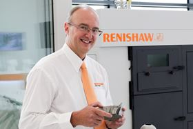 Clive Martell, head of global additive manufacturing at Renishaw.