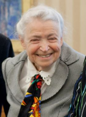 Mildred Dresselhaus. Official White House Photo by Pete Souza, Public domain, via Wikimedia Commons.