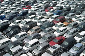 On the annualized basis, industry-wide U.S. auto sales dropped to 9.2 million vehicles in September, the weakest sales rate since April.