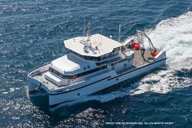 VELOX and AEC Polymers enabled the construction of FeliX, a recently-launched catamaran.