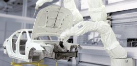 Durr's Ecopaint painting robots are used in robotic painting stations for automatic surface coating of bodies and add-on parts in ESTA, AIR and powder applications.