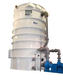 Vertical Scrubber Countercurrent Scrubber packed tower scrubber.