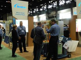Product demonstrations abound at FABTECH 2011.
