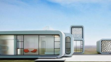 World's first 3D printed office made using FRP