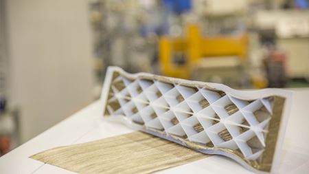 Bio-based composites on a larger scale