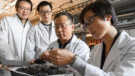 New way to recycle carbon fiber composites