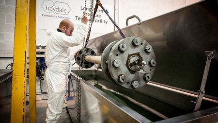 Haydale to open composite pipe testing facility