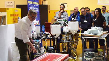 Students benefit from IACMI training